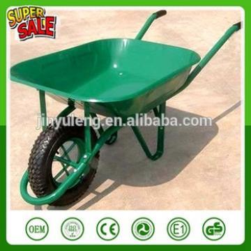 power Large capacity wheelbarrow single wheel barrow concrete cart trolley handcart Cart dolly wagon pushcart