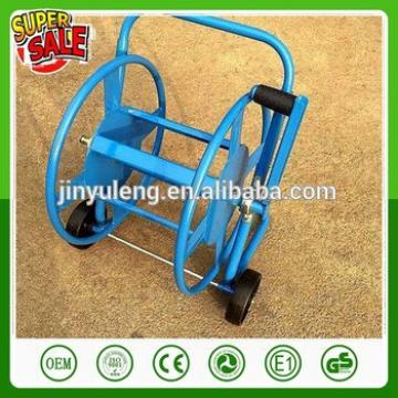 metal four wheel mini Hoses Reels cart water cart for home, family