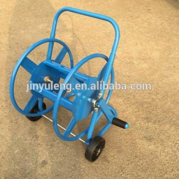 metal four wheel garden hose reel cart, mini Hoses & Reels cart water cart for home, family