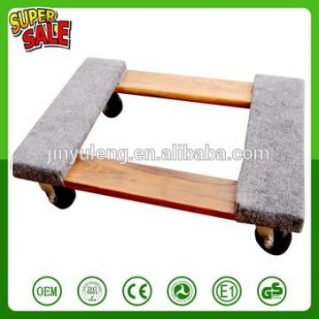 TC0506 wood plastic moving dolly tool cart for Electrical equipment Furniture