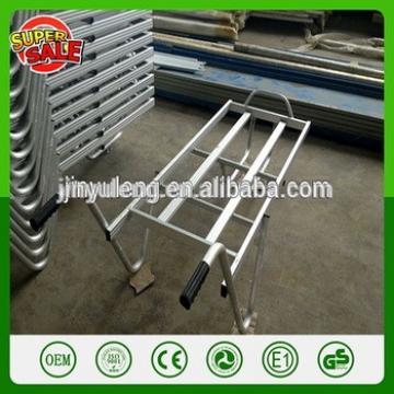 TC2401 Aluminum alloy garden Tool Cart platform wheelbarrow hand carts