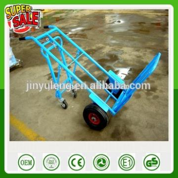 Multifunctional popular Heavy load Four wheel warehouse vehicles hand trolley truck