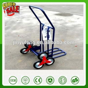 6 wheel Climb stairs roll container hand truck for Transport express delivery warehousing logistics supermarkets hand trolley