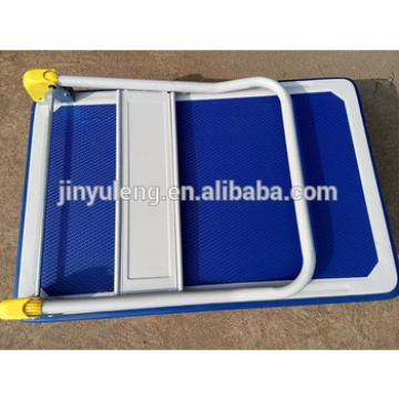 folding hand trolley for supermarket warehouse max load 300kg