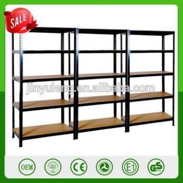 Factory directly seal 265kg Boltless 5 tier metal rack storage shelf warehouse rack garage metal display shelving tool racking