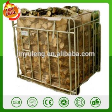 Firewood packing metal cage,Packaging fence firewood sorting box
