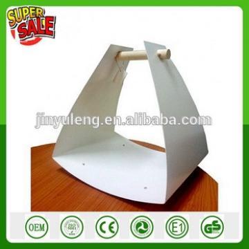 Fire Wood Basket Log Holder for Fireplace Firewood Rack , Black , Metal Iron Log Rack Carrier