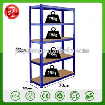 DIY 5 Layers Easy remove assembly folding display warehouse heavy duty metal shelving rack shelf