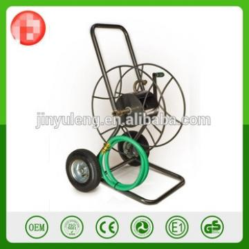 2 wheel Outdoor folding Heavy Water Hose Reel Cart for Garden Yard Planting PIPE REEL HOLDER TROLLEY CART GARDEN WATER PORTABL