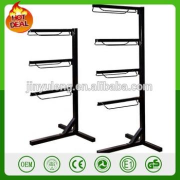 Storage Heavy Duty 4 Tier Easy Up Portable Saddle Rack Horse Equestrian saddle frame Storage rack Display shelf showing stand