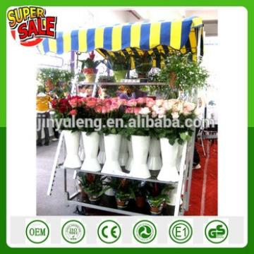move tool cart popular hot seal Display Storage show Rack Portable Fruit flower nursery plant exhibition transfer trolley truck