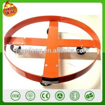 Dolly Mobile trailer platfrom dolly Waste Transport Equipment Work Tool cart Heavy Capacity gal Grease Steel oil Drum