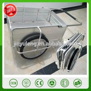 aluminum alloy metal fold platform hand wagon cart trolley Full Height Rear Gate Marine It Utility marine products tool wagon