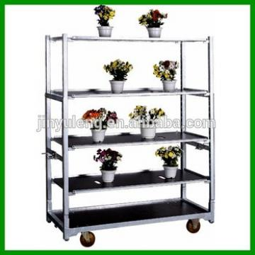 Display Storage show Rack move tool cart Portable Fruit flower nursery plant exhibition transfer trolley truck