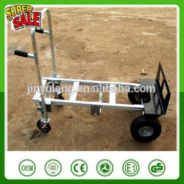 4 wheel 770lb capacity multifunction fold conversion Heavy Duty capacity Aluminum platfrom Hand Truck trolley Dolly Utility Cart