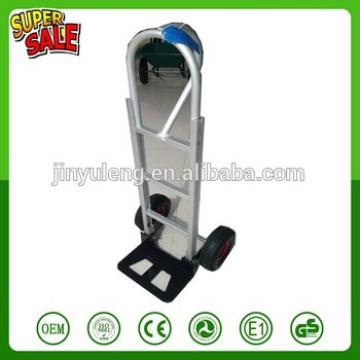 Aluminum alloy Portable 2 wheel heavy duty platfrom hand trolley truck Warehouse Dolly tool cart