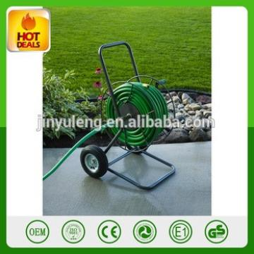 300 Foot Hose Capacity 2 rubber wheel Liberty Garden Water hose reel cart for Garden Outdoor park Yard Planting