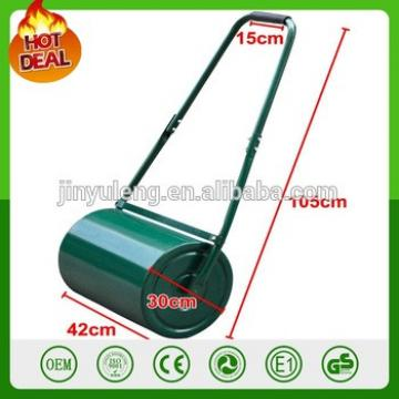 Heavy Duty Steel Outdoor Garden Grass Lawn Roller 48L Green Water Or Sand Filled