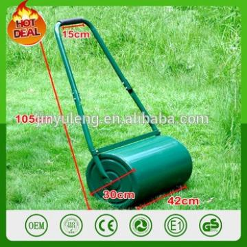 Push Pull Heavy Duty Commercial Steel Green Water Or Sand Tow Lawn Roller for Outdoor Garden Grass yard