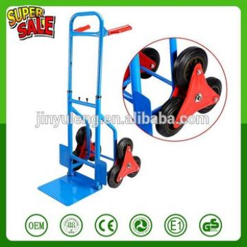 Stair Climber Hand Truck 200Kg Heay Duty 6 Wheel Sack Truck Hand Sack Cart Barrow Trolley Cart Garden Tool Home
