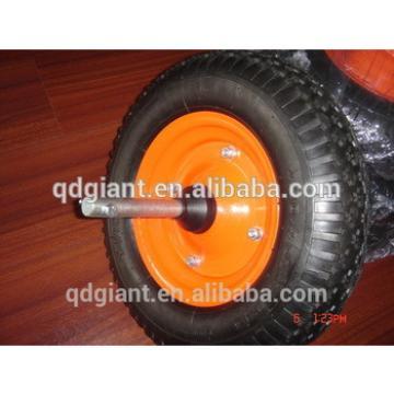"""16""""x 4.00-8 trolley rubber wheel"""