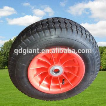 """Good Pneumatic Rubber Wheel 16""""x6.50-8 with Plastic Centre"""