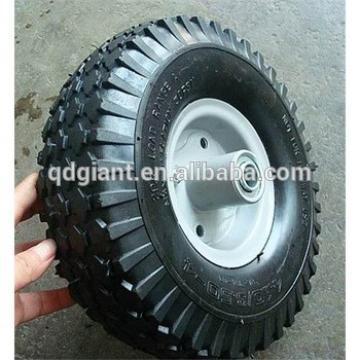 10'' trolley wheels, 10 inch pneumatic rubber tyre 3.50-4