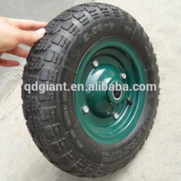 high quality wheel barrow tire with rim 3.50-7