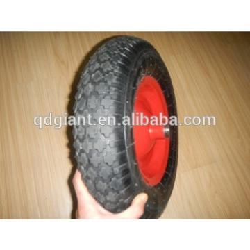 16 inch pneumatic rubber wheels 4.00-8 diamond pattern