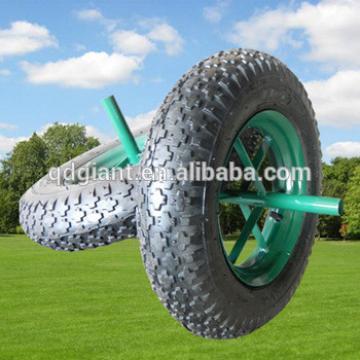 Cheap 3.50-8 wheel barrow wheels without bearing