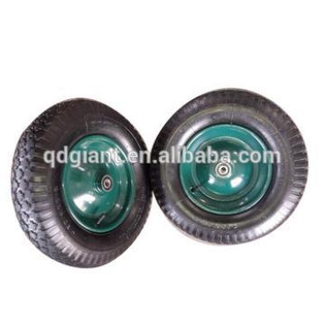diamond pattern rubber wheel 4.00-8