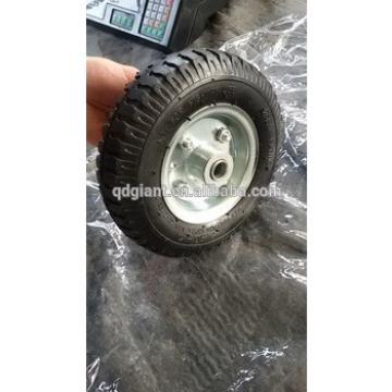 Popular small rubber wheel for nursery trolleys