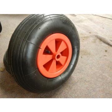 Plastic rim air wheel for garden wheelbarrow 3.50-6