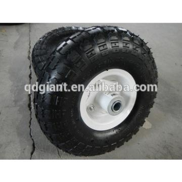 Small natural rubberair tire 3.50-4 for lawn mower