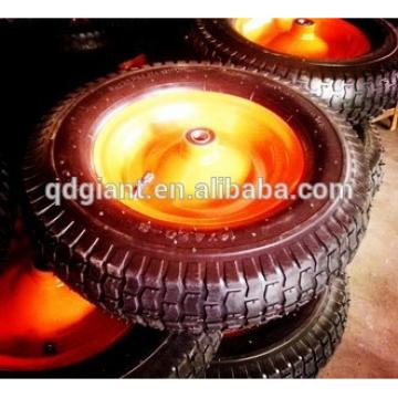 16x4.50-8 inflatable rubber wheel
