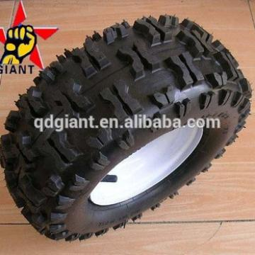13x5.00-6 pneumatic wheel assemblly with butterfly tread