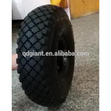 metal rim pneumatic rubber wheel 4.00-4