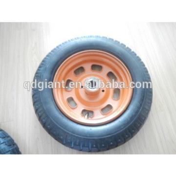 wheel barrow rubber wheel comb pattern 3.50-10