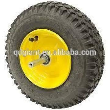 12inch Pneumatic wheels 3.50-6 with metal rim