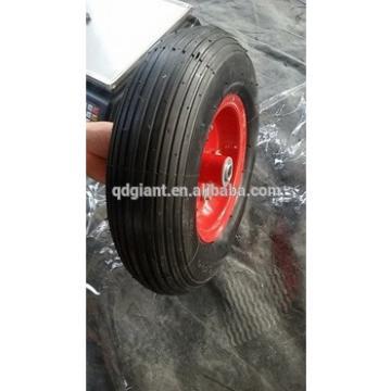 "China factory 13"" 3.50-6 wheelbarrow inflatable wheel"