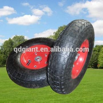 4.00-6 hand trolley inflatable wheels