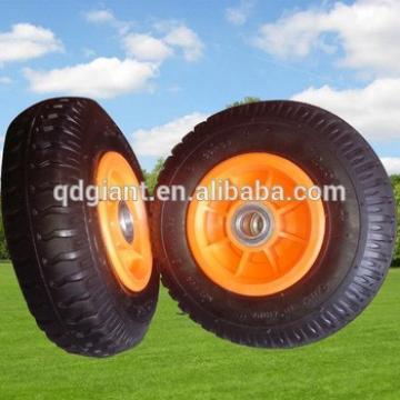 8inch plastic rim trolley wheels