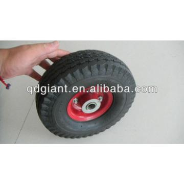 3.50-4 inflatable rubber wheel for hand cart