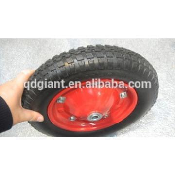 Metal rim 13inch wheelbarrow pneumatic wheel for sale