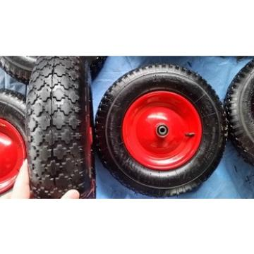 "Garden cart rubber wheel 16""x4.00-8 for Europe"