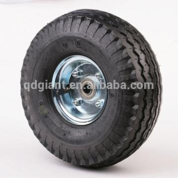 """10"""" air filled rubber wheel for hand truck"""