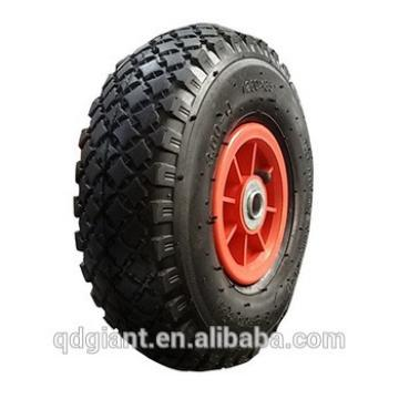 Small rubber 10inch hand trolley wheel