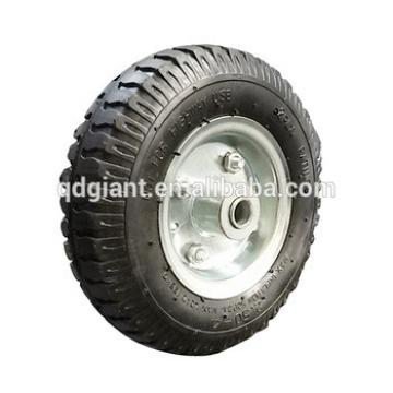 High quality metal rim 8 inch rubber wheel for handcart