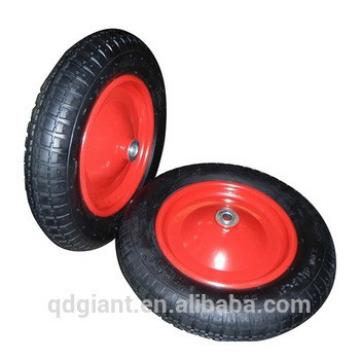"Bowing spoke rubber wheel 13""x3"""
