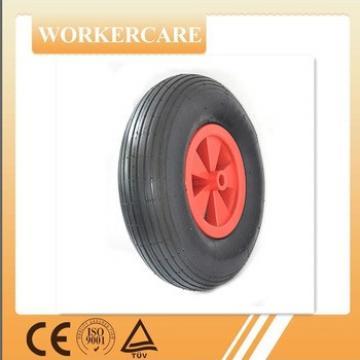 Plastic spoke rubber wheel 3.50-6